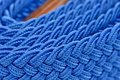 Blue Folded Cord Belt Stock Images