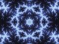 Blue Fractal Mandelbrot Formul...