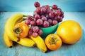 Blue fresh fruits Στοκ φωτογραφία με δικαίωμα ελεύθερης χρήσης