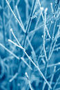 Blue Frost Texture Stock Images