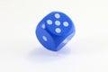 Blue Game Dice