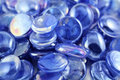 Blue Gems Royalty Free Stock Photo