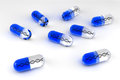 Blue Gene Therapy Pills Royalty Free Stock Photography