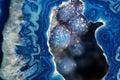 Blue Geode Macro