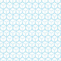 Blue geometric dot line pattern background Royalty Free Stock Photo