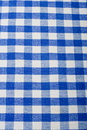 Blue gingham Royalty Free Stock Photo