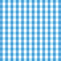 Blue gingham background Royalty Free Stock Photography