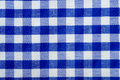 Blue Gingham Background Royalty Free Stock Images
