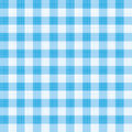Blue gingham repeat pattern Stock Photos