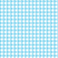 Blue gingham a sample with a design Royalty Free Stock Images
