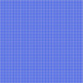 Blue Gingham Seamless Pattern Royalty Free Stock Photography