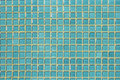 Blue glass mosaic Royalty Free Stock Photo