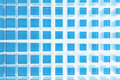 Blue glass squares Royalty Free Stock Photo