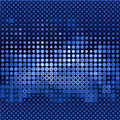 Blue gloss dots Royalty Free Stock Photo