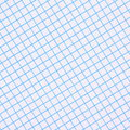 Blue graph paper background a sheet of and white photographed in a diagonal composition to provide a Royalty Free Stock Photos