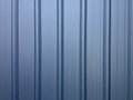 Blue gray galvanized sheet Royalty Free Stock Photo
