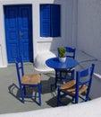 Blue Greek Veranda