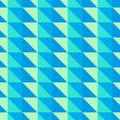 Blue and green abstract pattern with triangles