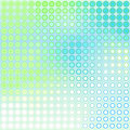 Blue green dots Stock Photo
