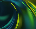 Blue green haze feather fractal background.  artwork for creative design. Royalty Free Stock Photo