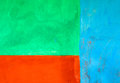 Blue, green and orange abstract background Royalty Free Stock Photo