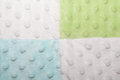 Blue, Green and White Squares and Bubble Texture Royalty Free Stock Photo