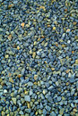 Blue-grey gravel texture Stock Images