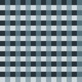 Blue grey tablecloth Vector. Traditional tablecloth pattern Vector. Blue grey color square pattern Royalty Free Stock Photo