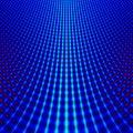 Blue Grid Fractal