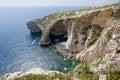 Blue Grotto Malta Royalty Free Stock Photography
