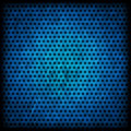 Blue grunge background of circle pattern texture Stock Photography