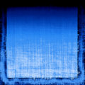 Blue Grunge Fabric Stock Photo