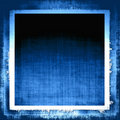 Blue Grunge Fabric Royalty Free Stock Image
