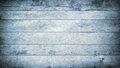 Blue grunge scratched wooden planks, wall, table, ceiling or floor surface. Royalty Free Stock Photo
