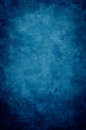 Blue Grunge Vignette Royalty Free Stock Photo
