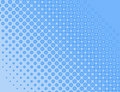 Blue halftone background Royalty Free Stock Images
