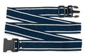 Blue harness with stich on white background Royalty Free Stock Images