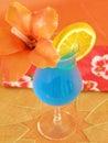 Blue Hawaiian Stock Image