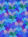 Modrý srdce