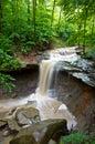 Blue Hen Creek Falls Royalty Free Stock Photo