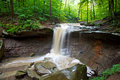 Blue Hen Creek Falls Royalty Free Stock Photo
