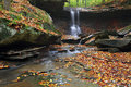Blue Hen Falls Royalty Free Stock Photography