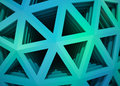 Blue hex background a layered image Royalty Free Stock Photo