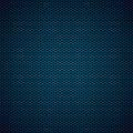 Blue Hexagon Metal Background