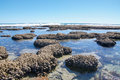 Blue Holes: Indian Ocean Tide Pools Royalty Free Stock Photo