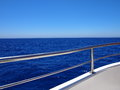 Blue horizon and clear sky Royalty Free Stock Photo