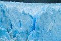Blue ice glacier Perito Moreno in Patagonia Royalty Free Stock Photo
