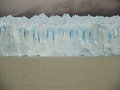 Blue ice wall perito moreno glacier Stock Photo