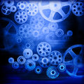 Cogs Gears Industrial Background Royalty Free Stock Photo