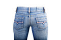 Blue jean Royalty Free Stock Photo